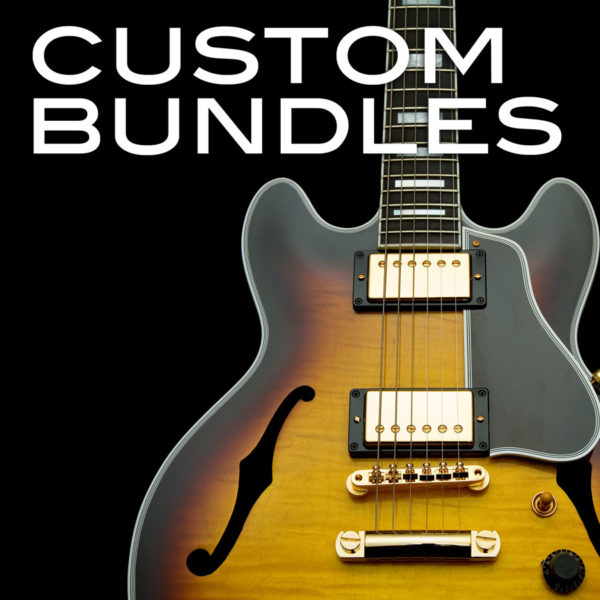 Custom Bundles at Pro Backing Tracks
